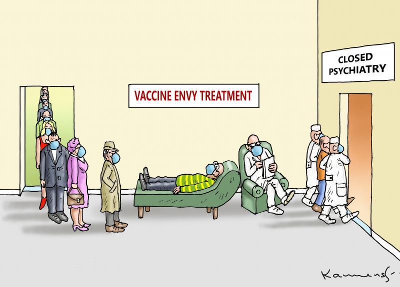 Vaccine envy treatment Closed psychiatry