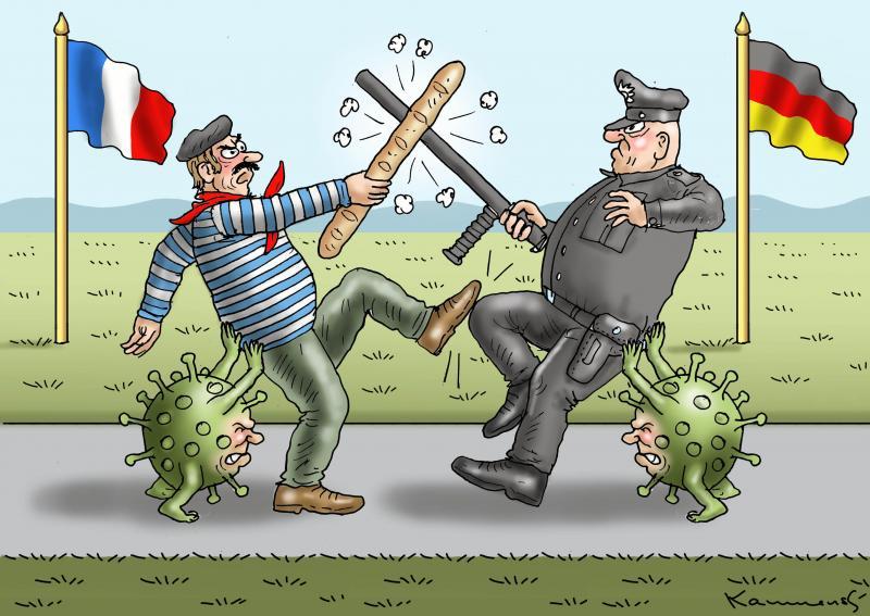 France versus Germany