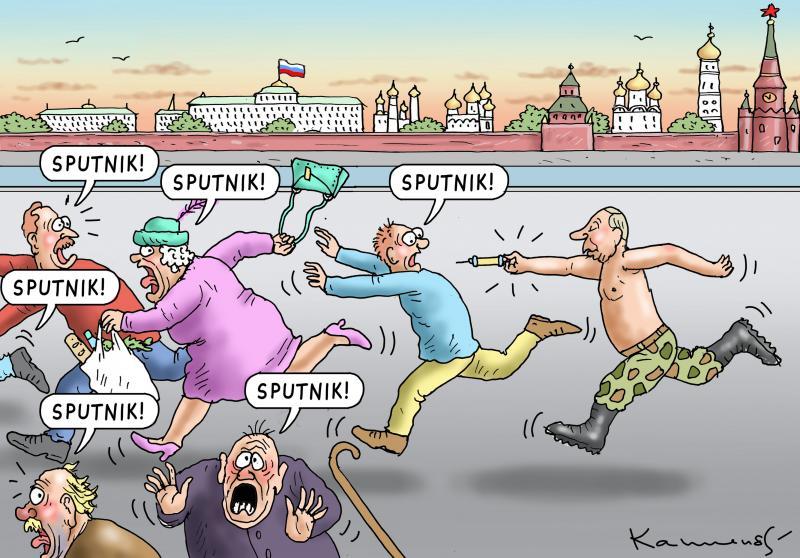 VACCINATION TERROR IN RUSSIA