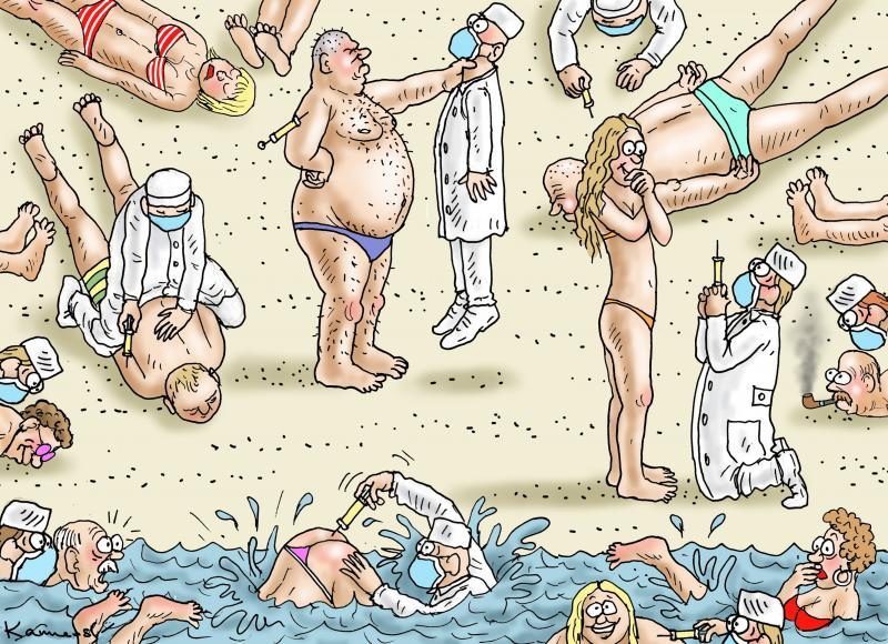 BEACH VACCINATION