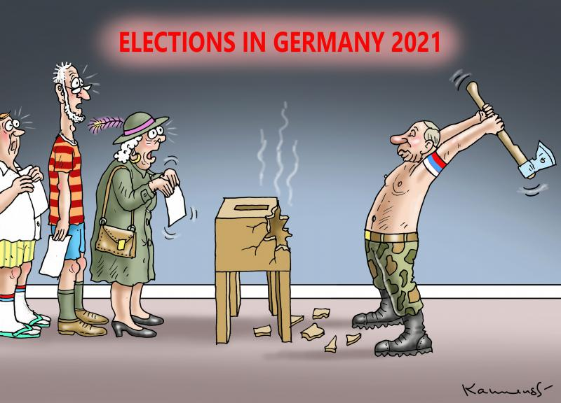 Elections in Germany 2021