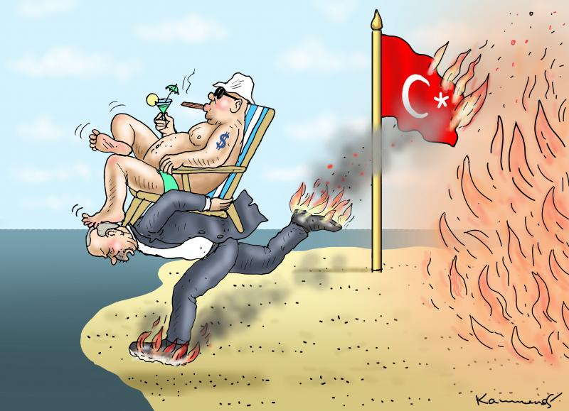 Tourism savior Erdogan