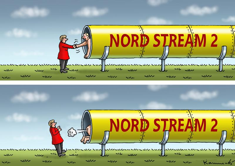 NORD STREAM 2 FINISHED