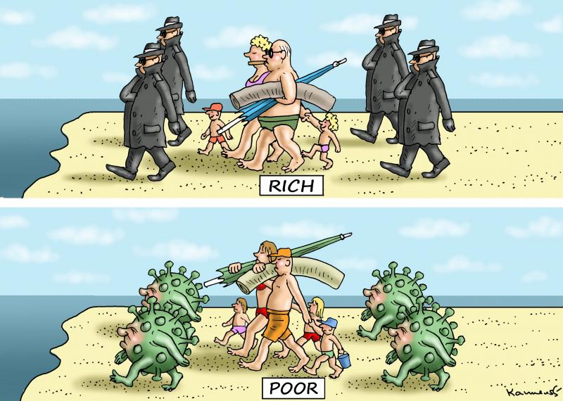 POOR RICH WORLD