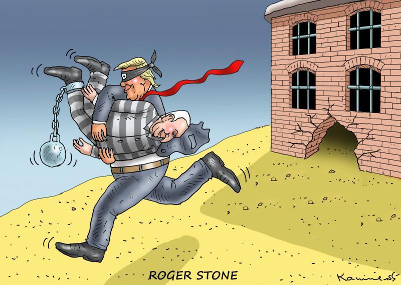 TRUMP+ROGER STONE