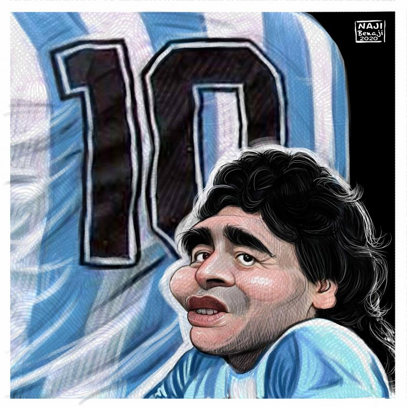 the maradona star is death