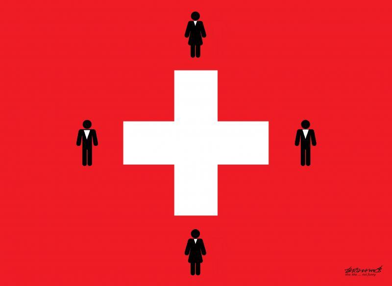 Switzerland recognizes same-sex marriage