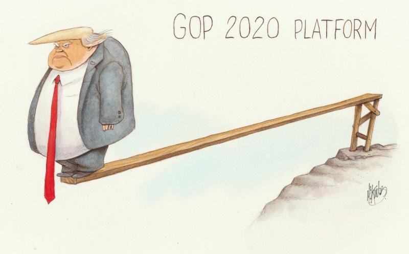 Republican platform for 2020 convention
