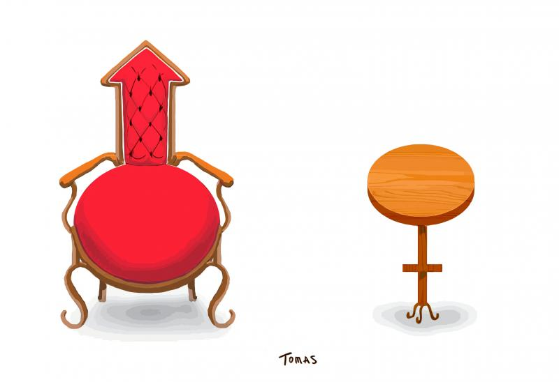 Chairs and stools, for men and women