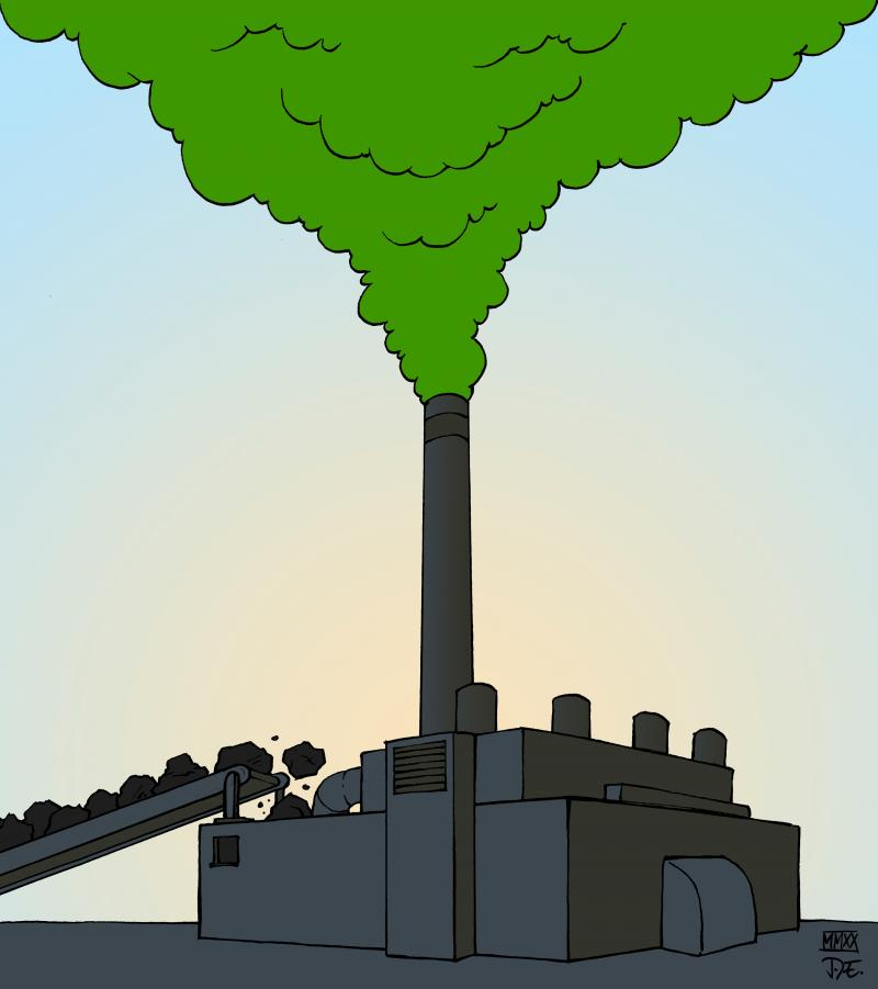 Greenwashing Energy Coal Plants Carbon Emissions Trade