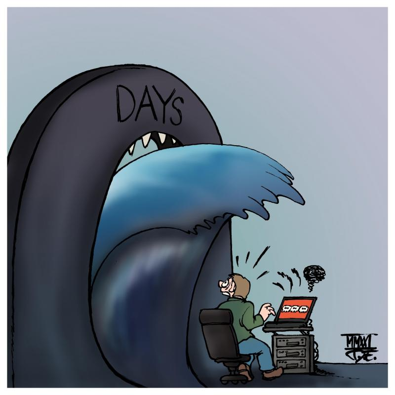 computer internet network data security breach backdoors hafnium exchange acer espionage companies servers military ransomware