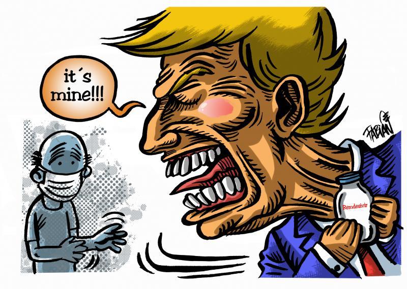 Trump is an hoarder