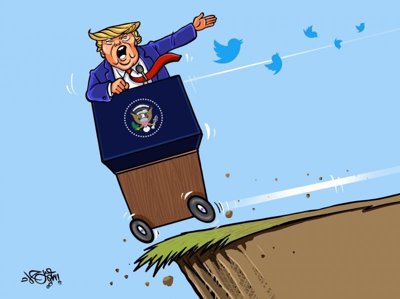Trump on the edge