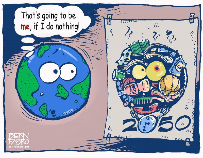 Cartoon by Bern Fabro
