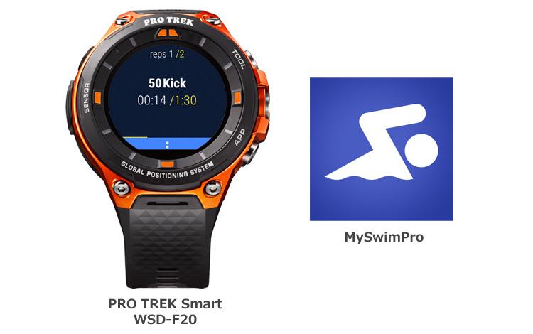 [SmartWatch] WSD-F20 и приложение для плавания