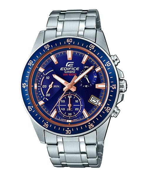 [Edifice 2017] Racing Blue Series — недорогие часы для автогонщиков