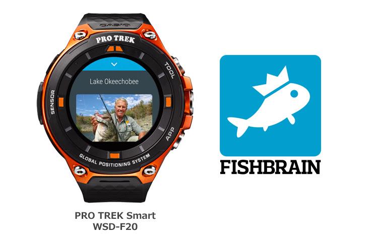 [SmartWatch] WSD-F20 и приложение FISHBRAIN для рыбаков