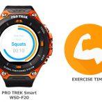 [SmartWatch] WSD-F20 и приложение для интервальных тренировок
