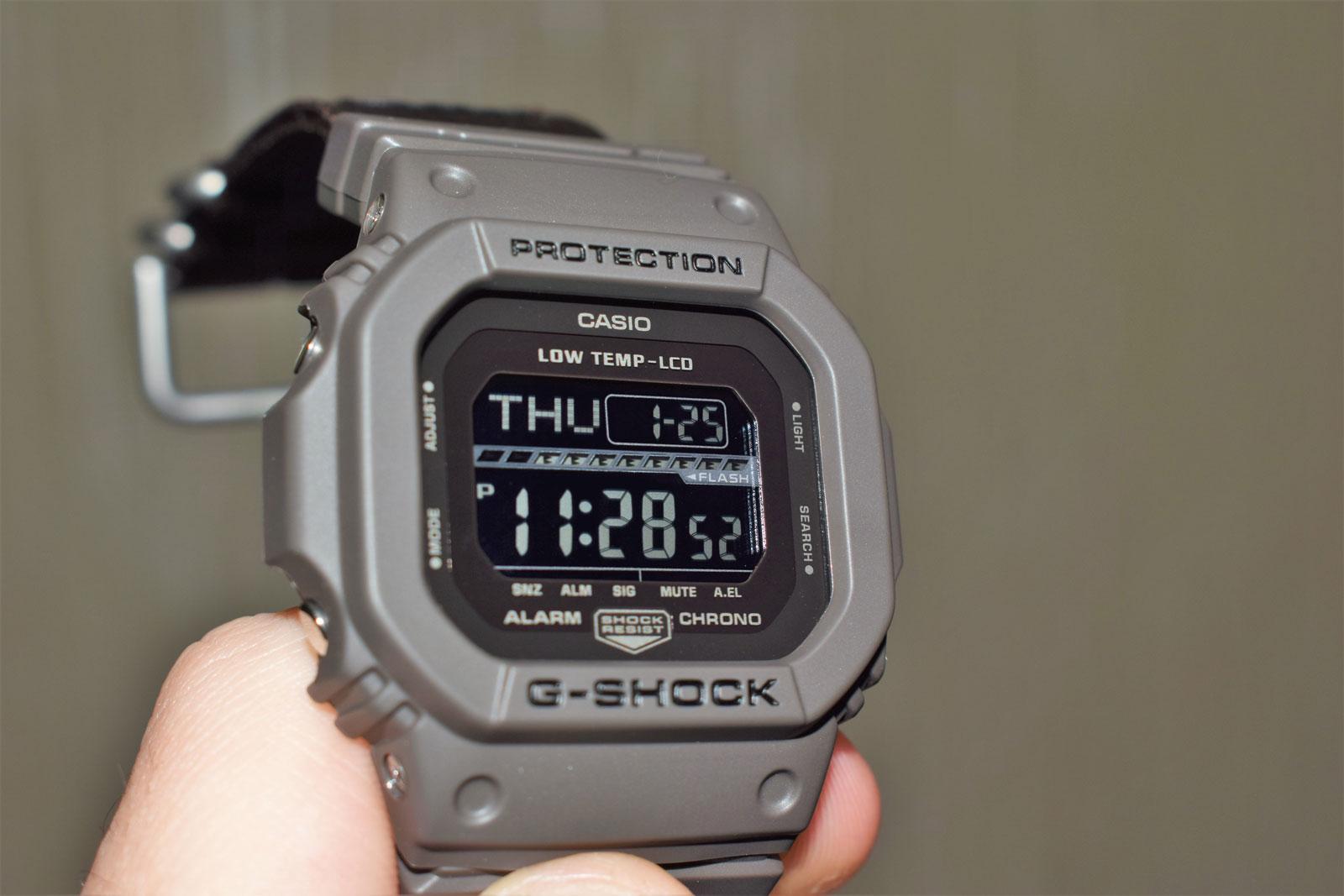 [Обзор G-Shock] GLS-5600CL-5ER — морозостойкость и тканевый ремешок