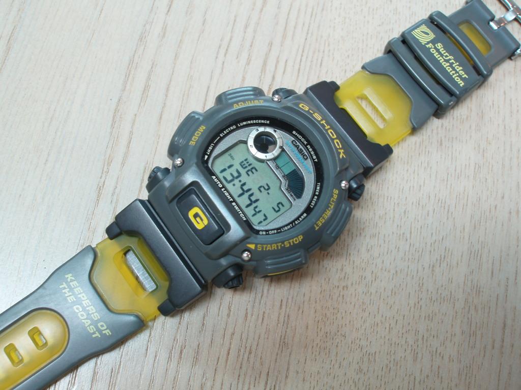 """[G-Shock History] 1997 — DW-9000SR. """"Шоки"""" с социальным подтекстом"""
