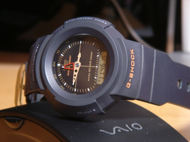 [G-Shock History] 1996 — AW-500UA-1E. Цифро-аналоговые? Противоударные? Да, еще и на стиле!