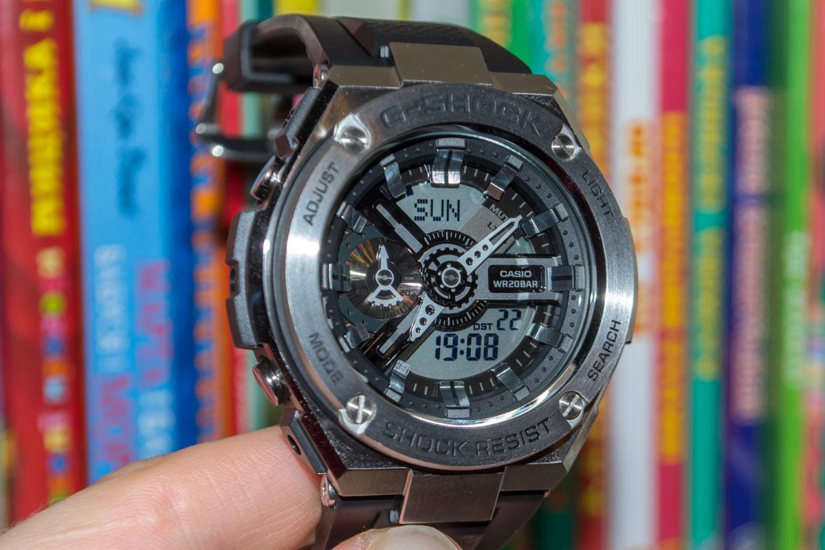 [Обзор G-Shock] GST-410-1AER — когда прошлое возвращается, но в металле