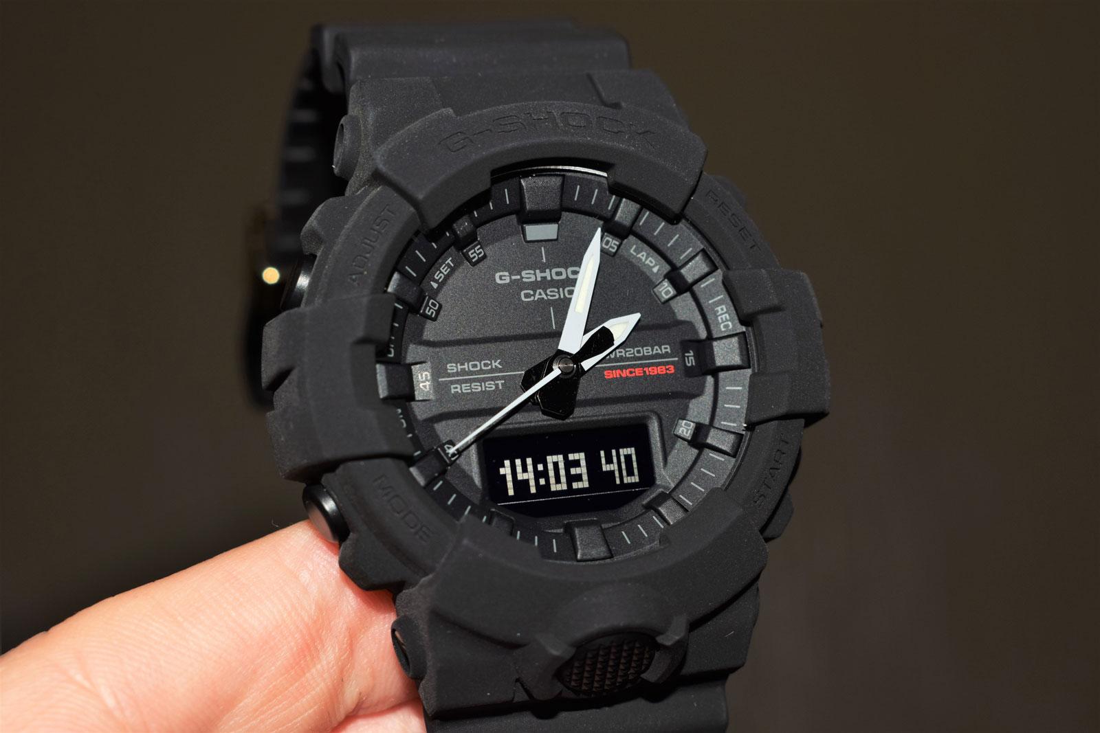 [Обзор G-Shock] GA-835A-1AER — черное чудо к 35-летнему юбилею