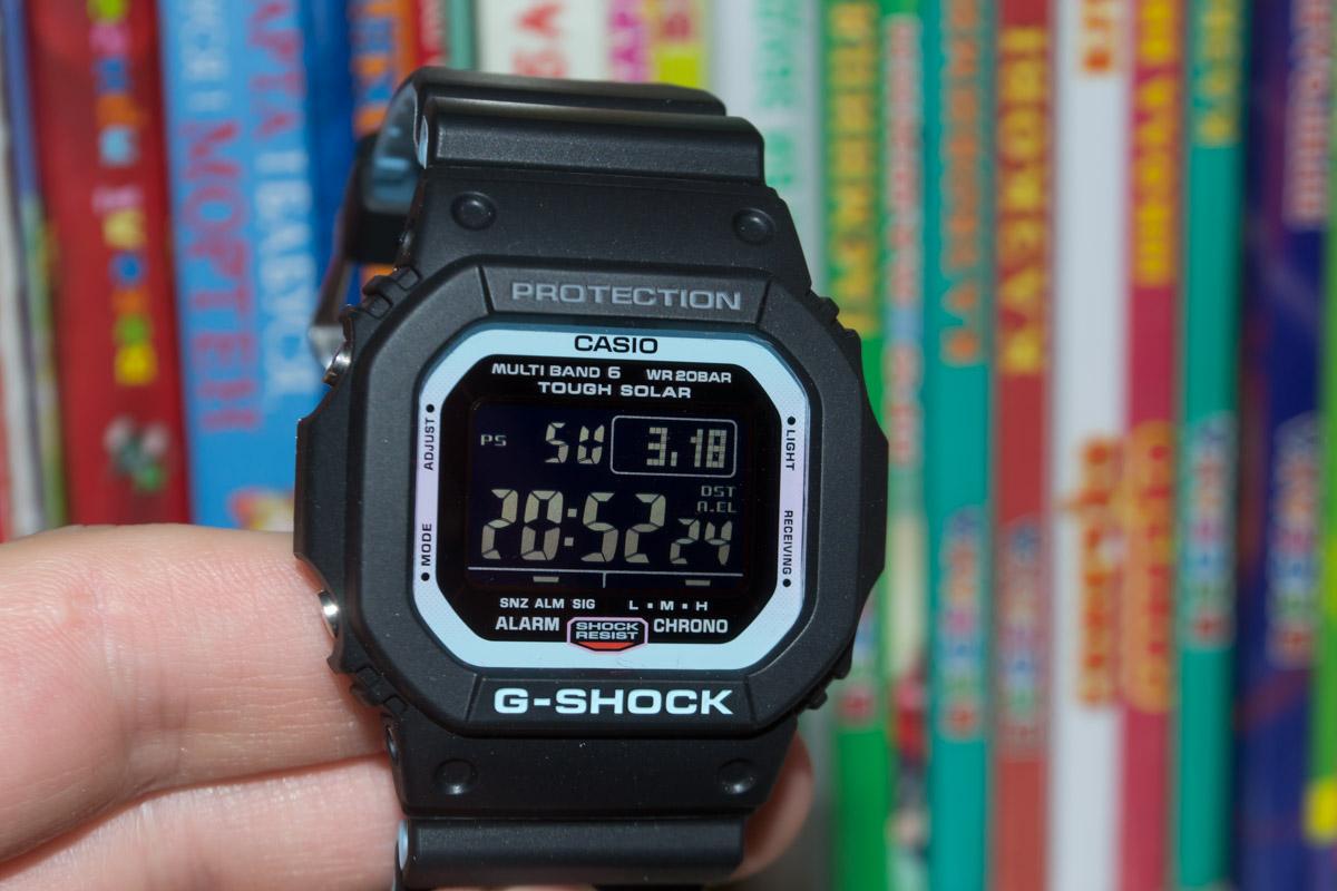 [Обзор G-Shock] GW-M5610PC-1ER — для клубной жизни с неоновым синим