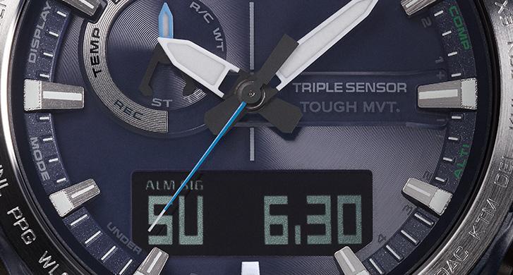 [Baselworld 2018] ProTrek PRW-60 — компактность, зеркальность, удобство