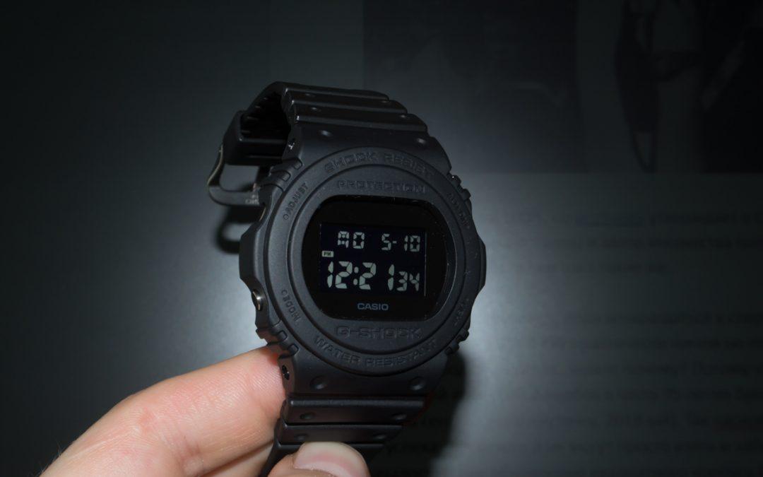 [Обзор G-Shock] DW-5750E-1BER — почти как у Стинга, только из 90-ых годов