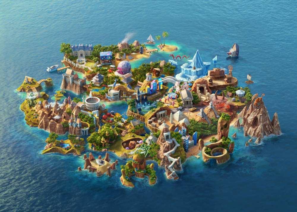 Casino Heroes online island