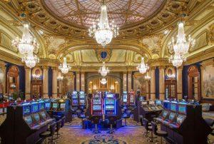 interior monte carlo casino, monaco