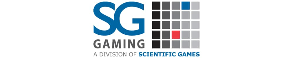 SG Gaming (Scientific Games) banner
