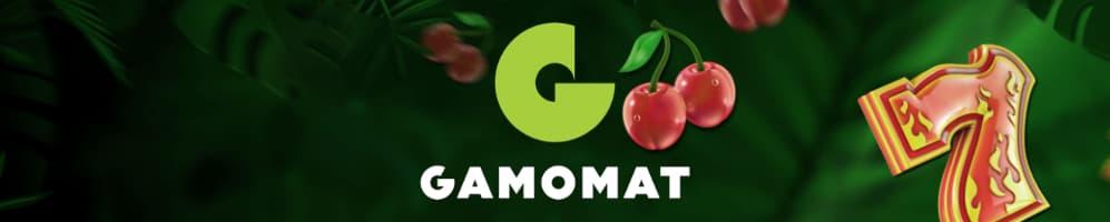 Gamomat banner