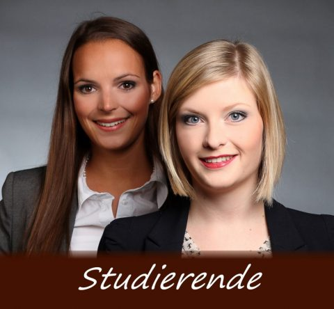 Studierende bei Hussel