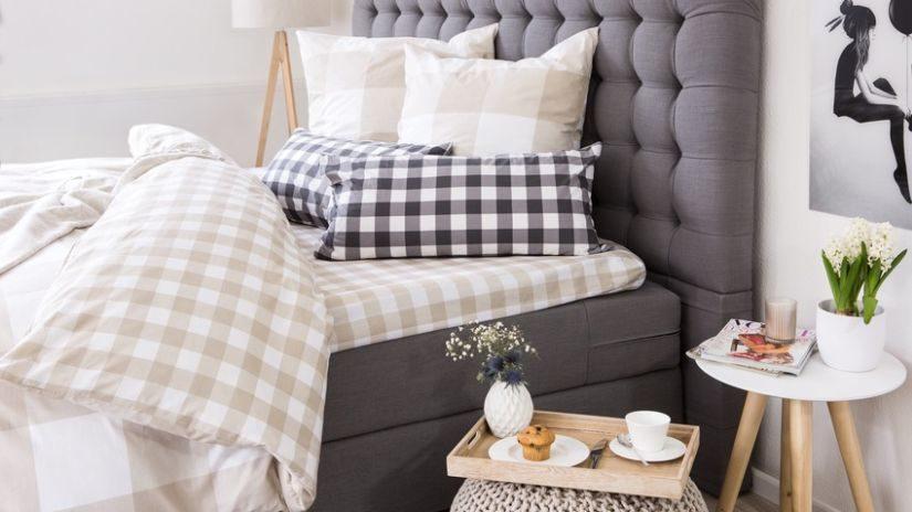 skandinávský nábytek - postel