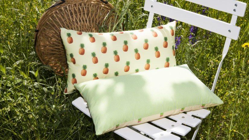 zahradní textil - polštáře
