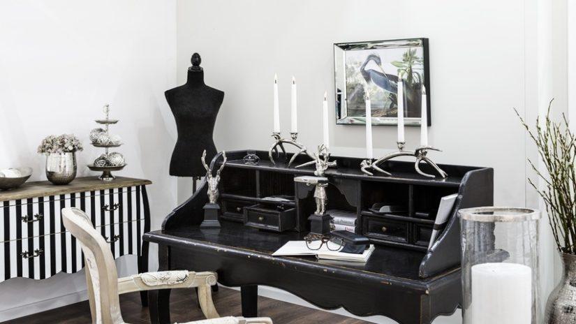 glamour designový psací stůl