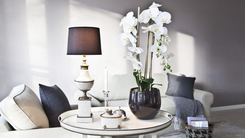 vintage stojací lampy