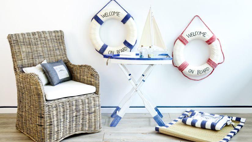 námořnický styl - dekorace