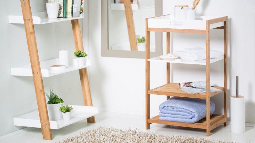 perfektní dřevěný koupelnový nábytek