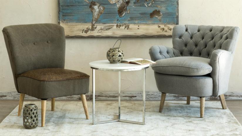 šedý nábytek