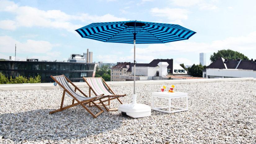 látkové plážové skládací židle