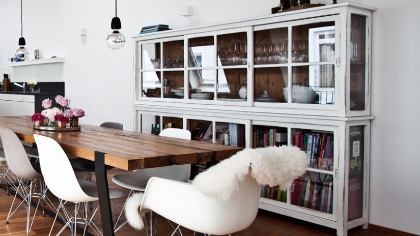 retro židle k jídelnímu stolu