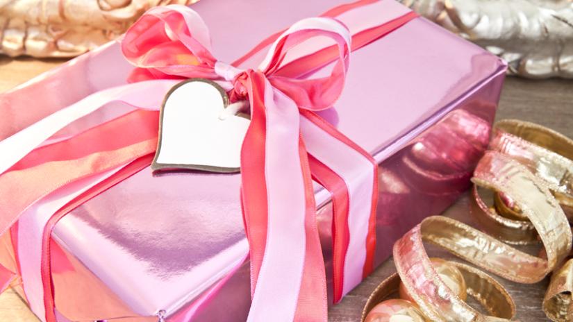 růžové dárky
