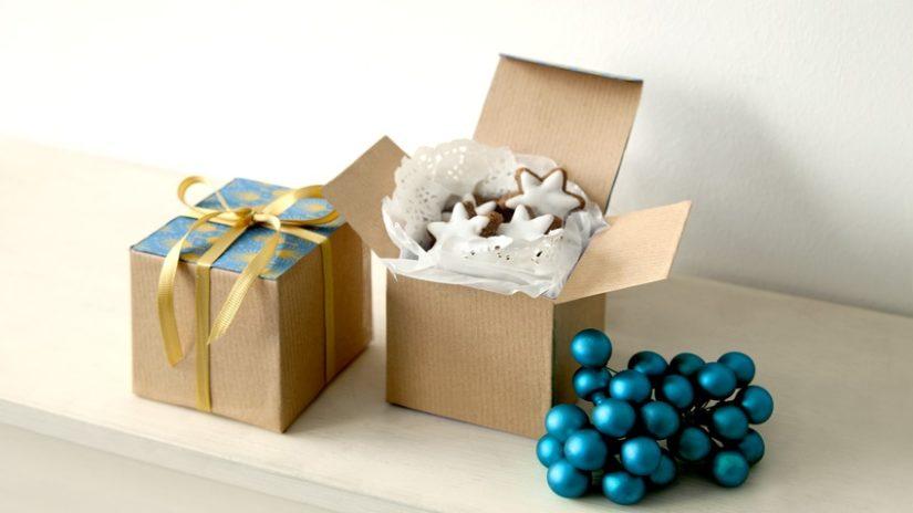 upečené dárky