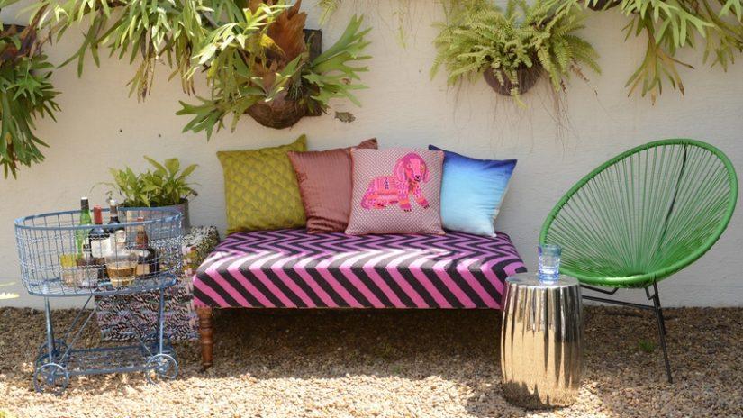 boho lounge zahradní nábytek