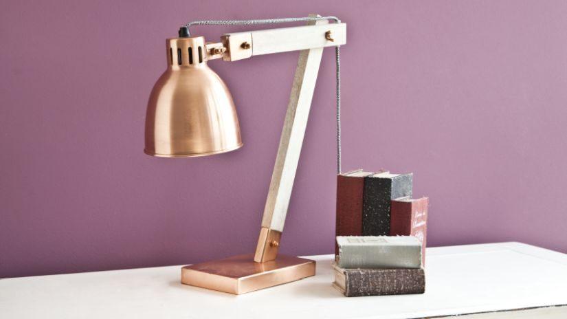 stolní vintage lampy