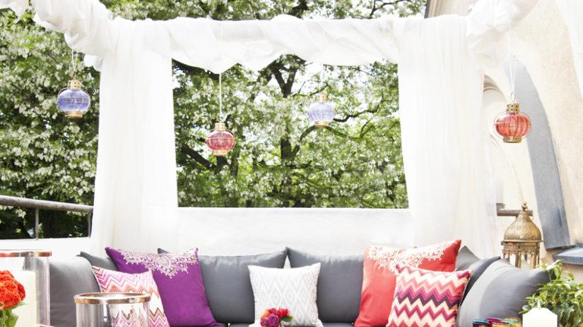 šedý moderní zahradní nábytek