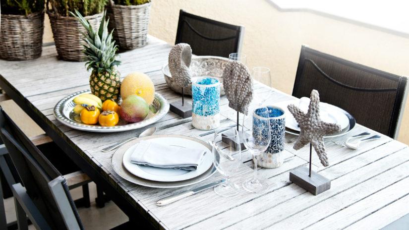 moderní zahradní nábytek - stůl